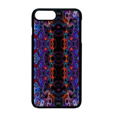 Kaleidoscope Art Pattern Ornament Iphone 8 Plus Seamless Case (black) by Sudhe