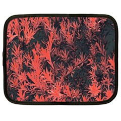 Orange Etched Background Netbook Case (xl)