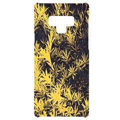 Artistic Yellow Background Samsung Note 9 Frosting Case