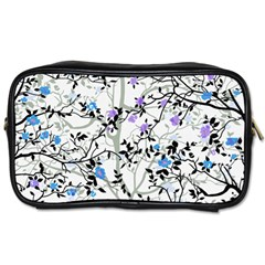 Floral Pattern Background Toiletries Bag (one Side)
