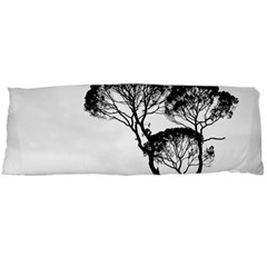 Silhouette Photo Of Trees Body Pillow Case (dakimakura) by Sudhe
