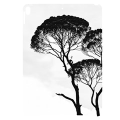 Silhouette Photo Of Trees Apple Ipad Pro 10 5   Black Frosting Case