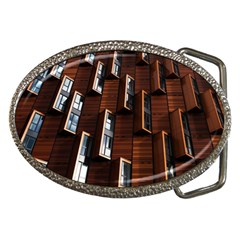 Abstract Architecture Building Business Belt Buckles by Sudhe