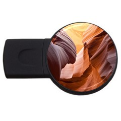 Light Landscape Nature Red Usb Flash Drive Round (4 Gb)