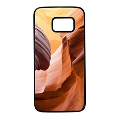 Light Landscape Nature Red Samsung Galaxy S7 Black Seamless Case