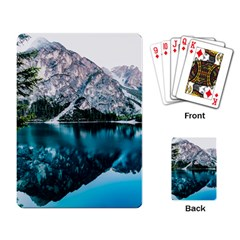 Daylight Forest Glossy Lake Playing Cards Single Design