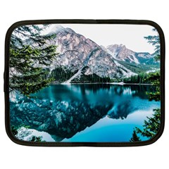 Daylight Forest Glossy Lake Netbook Case (xl)