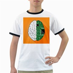 Technology Brain Digital Creative Ringer T
