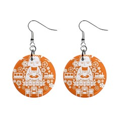 Taiwan Changhua Wikiproject Mini Button Earrings