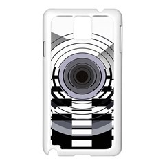 Glass Illustration Technology Samsung Galaxy Note 3 N9005 Case (white)