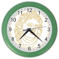 Apollo Design Draw Vector Nib Color Wall Clock