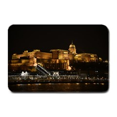 Budapest Buda Castle Building Scape Plate Mats