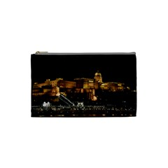 Budapest Buda Castle Building Scape Cosmetic Bag (small)