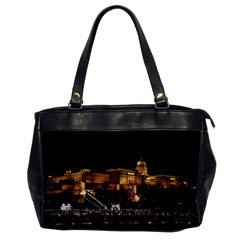 Budapest Buda Castle Building Scape Oversize Office Handbag