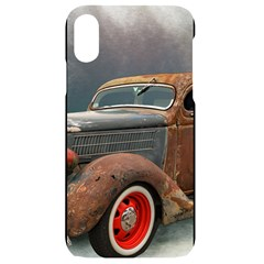 Auto Old Car Automotive Retro Iphone Xr Black Frosting Case