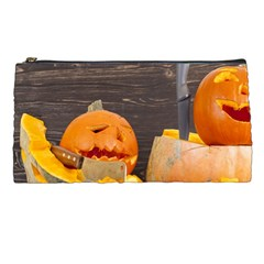 Old Crumpled Pumpkin Pencil Cases