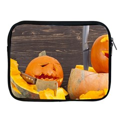 Old Crumpled Pumpkin Apple Ipad 2/3/4 Zipper Cases by rsooll