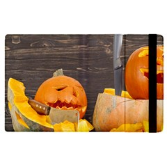 Old Crumpled Pumpkin Apple Ipad Mini 4 Flip Case by rsooll