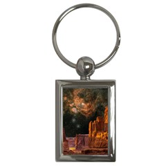 Geology Sand Stone Canyon Key Chains (rectangle)