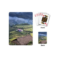 Rock Scenery The H Mong People Home Playing Cards (mini)