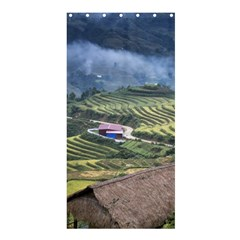 Rock Scenery The H Mong People Home Shower Curtain 36  X 72  (stall)