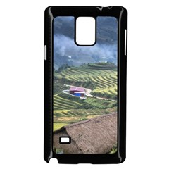 Rock Scenery The H Mong People Home Samsung Galaxy Note 4 Case (black)