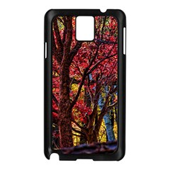 Autumn Colorful Nature Trees Samsung Galaxy Note 3 N9005 Case (black)