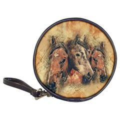 Head Horse Animal Vintage Classic 20 Cd Wallets