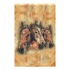 Head Horse Animal Vintage Shower Curtain 48  X 72  (small)