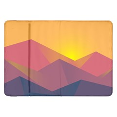 Image Sunset Landscape Graphics Samsung Galaxy Tab 8 9  P7300 Flip Case