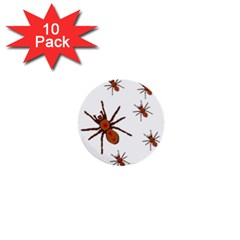 Nature Insect Natural Wildlife 1  Mini Buttons (10 Pack)  by Sudhe