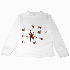 Nature Insect Natural Wildlife Kids Long Sleeve T-shirts