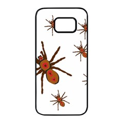 Nature Insect Natural Wildlife Samsung Galaxy S7 Edge Black Seamless Case