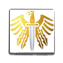 Knife Revenge Emblem Bird Eagle Memory Card Reader (square 5 Slot)