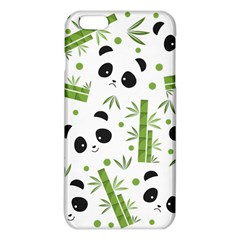 Giant Panda Bear Bamboo Icon Green Bamboo Iphone 6 Plus/6s Plus Tpu Case