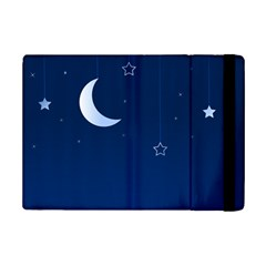 Night Moon Star Background Ipad Mini 2 Flip Cases by Jojostore