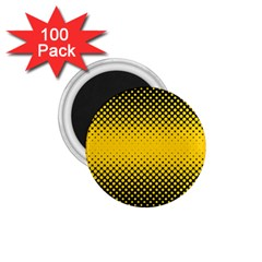 Dot Halftone Pattern Vector 1 75  Magnets (100 Pack)