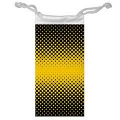 Dot Halftone Pattern Vector Jewelry Bag