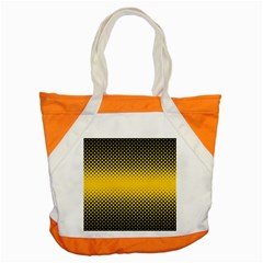 Dot Halftone Pattern Vector Accent Tote Bag