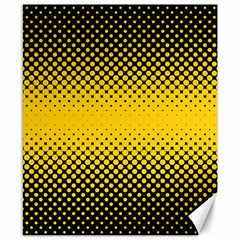 Dot Halftone Pattern Vector Canvas 8  X 10