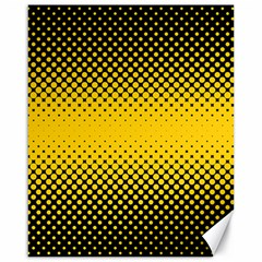 Dot Halftone Pattern Vector Canvas 16  X 20