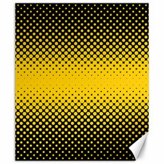 Dot Halftone Pattern Vector Canvas 20  X 24