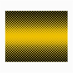 Dot Halftone Pattern Vector Small Glasses Cloth (2 Side)