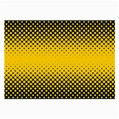 Dot Halftone Pattern Vector Large Glasses Cloth (2 Side)