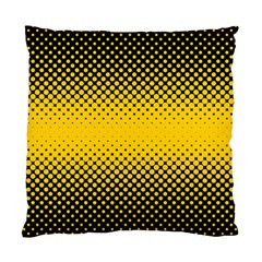 Dot Halftone Pattern Vector Standard Cushion Case (one Side)