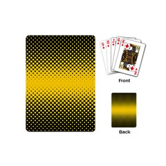 Dot Halftone Pattern Vector Playing Cards (mini)
