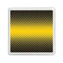 Dot Halftone Pattern Vector Memory Card Reader (square)