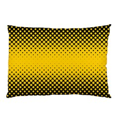 Dot Halftone Pattern Vector Pillow Case (two Sides)