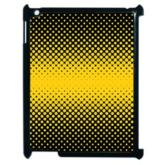Dot Halftone Pattern Vector Apple Ipad 2 Case (black)