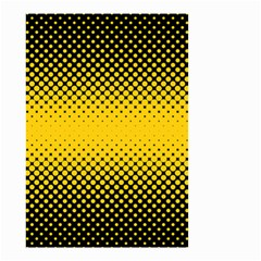 Dot Halftone Pattern Vector Small Garden Flag (two Sides)